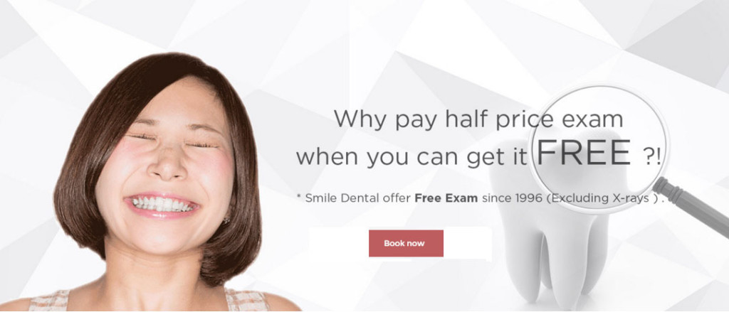 free dental exam