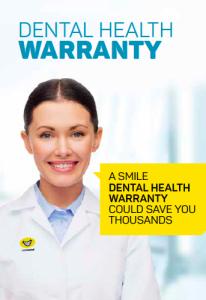 Dental Health Warranty 01