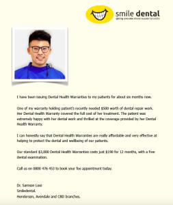 dental issurance_samon